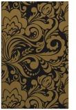 rug #412765 |  mid-brown damask rug