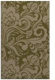 rug #412769 |  brown damask rug