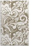 rug #412789 |  white damask rug