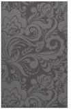 rug #412797 |  mid-brown damask rug
