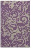 rug #412829 |  purple damask rug