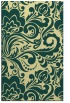 rug #412853 |  yellow damask rug