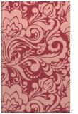rug #412865 |  pink damask rug
