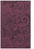 rug #412873 |  purple damask rug