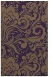 rug #412881 |  mid-brown damask rug