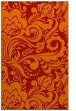 rug #412893    red damask rug