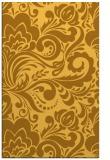 rug #412953    yellow damask rug