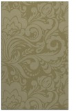 rug #412973 |  light-green damask rug