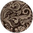 rug #413015 | round damask rug
