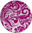 rug #413101 | round damask rug