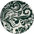 rug #413136   round damask rug