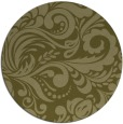 rug #413333 | round light-green popular rug