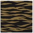 rug #413725   square mid-brown animal rug