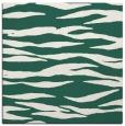 rug #413837   square green animal rug