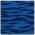 rug #413873 | square blue animal rug