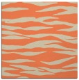 rug #413901 | square beige animal rug