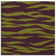 rug #413933 | square purple stripes rug