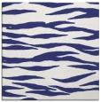 rug #413985 | square white animal rug