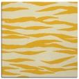 rug #413993 | square yellow animal rug