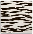 rug #414001   square brown animal rug