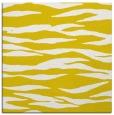 rug #414005 | square yellow animal rug