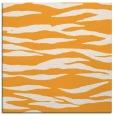 rug #414053 | square light-orange stripes rug