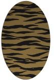 rug #414078   oval animal rug