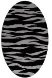 rug #414230 | oval animal rug