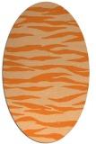 rug #414320 | oval animal rug