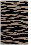 rug #414421    black stripes rug