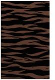 rug #414425 |  black stripes rug