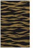 rug #414429 |  mid-brown stripes rug
