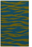 rug #414469 |  green stripes rug