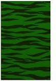rug #414477 |  green stripes rug