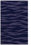 rug #414493 |  blue-violet stripes rug