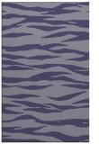 rug #414497 |  blue-violet stripes rug