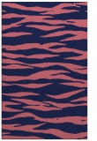 rug #414501    pink stripes rug