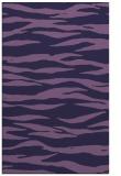 rug #414505 |  purple animal rug