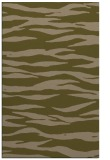 rug #414529 |  mid-brown stripes rug