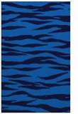 rug #414577 |  blue stripes rug