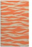 rug #414605 |  orange animal rug