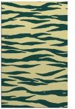 rug #414613 |  yellow animal rug
