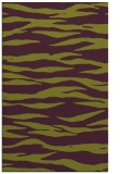 rug #414637 |  purple stripes rug