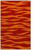 rug #414653    red stripes rug