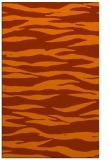 rug #414665 |  red-orange animal rug