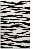 rug #414681    black stripes rug