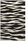 rug #414717 |  black animal rug