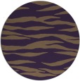 rug #414993 | round animal rug