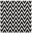 rug #415469 | square white stripes rug