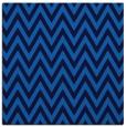 rug #415633 | square blue stripes rug